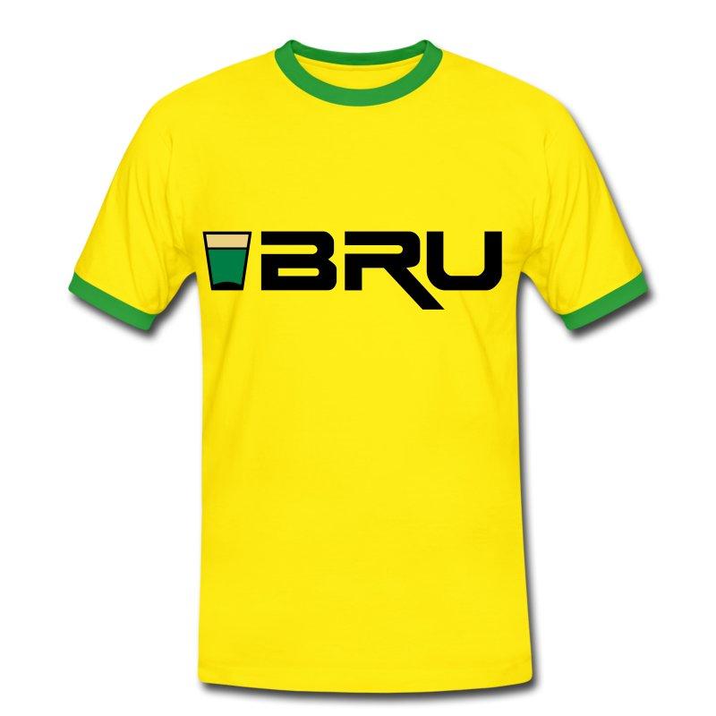 shotbru2_t_11 - Men's Ringer Shirt