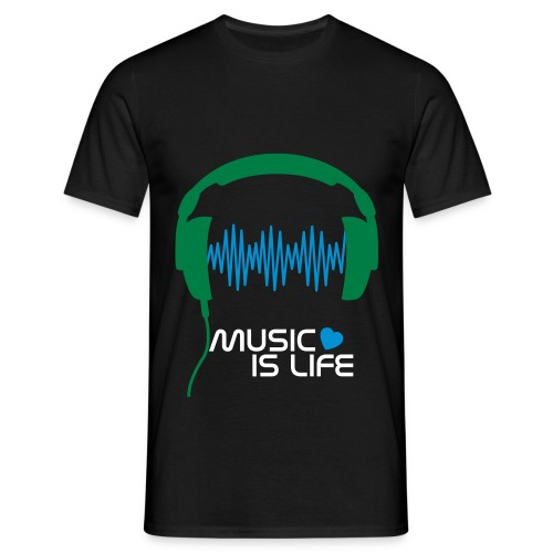 Music Shirt -Men - Herre-T-shirt