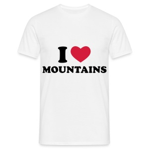 I love mountains tee - Men's T-Shirt