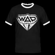 T-Shirts ~ Männer Kontrast-T-Shirt ~ WAP weiss Kontrast