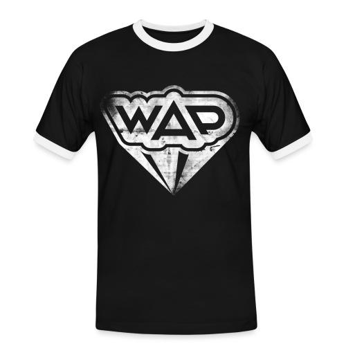WAP weiss Kontrast - Männer Kontrast-T-Shirt