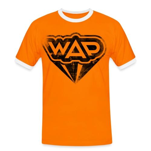WAP schwarz Kontrast - Männer Kontrast-T-Shirt