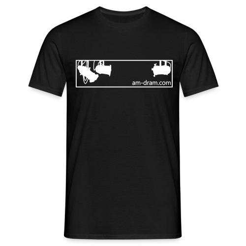 Men's am-dram.com T-Shirt - Men's T-Shirt
