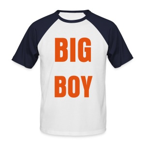 BIG BOY short sleeve baseball t-shirt - Men's Baseball T-Shirt