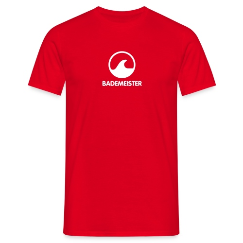 Bademeister Shirt für Männer - Männer T-Shirt
