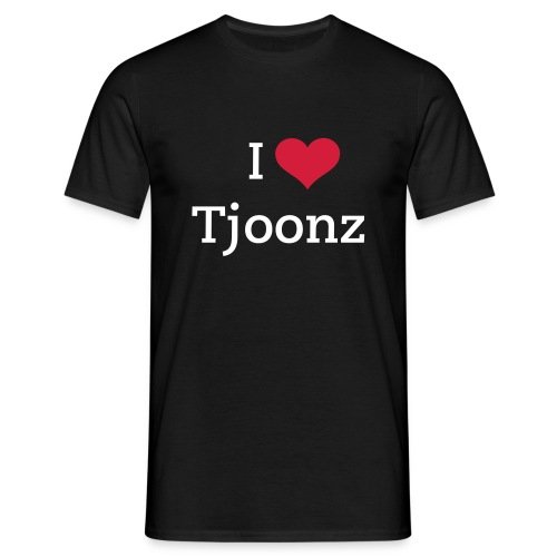 I Heart Tjoonz - Men's T-Shirt