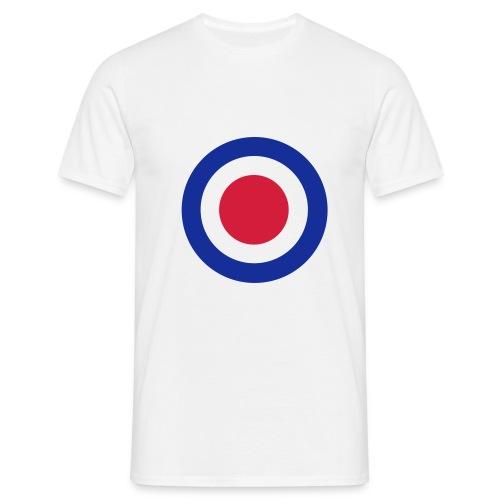 Sobre logo merc bleu/rouge - T-shirt Homme