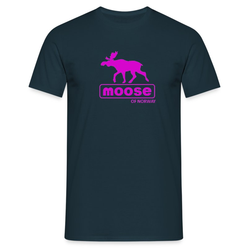Moose of Norway - T-skjorte for menn