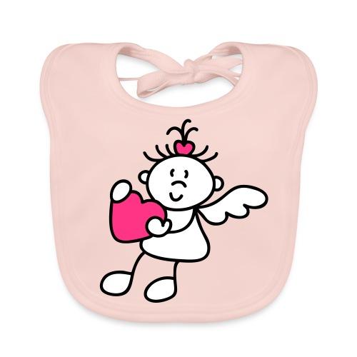 baby thsirt lgirls fairy that stolen nannys heart - Baby Organic Bib