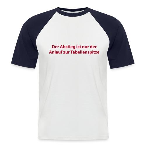 Abstieg - Männer Baseball-T-Shirt