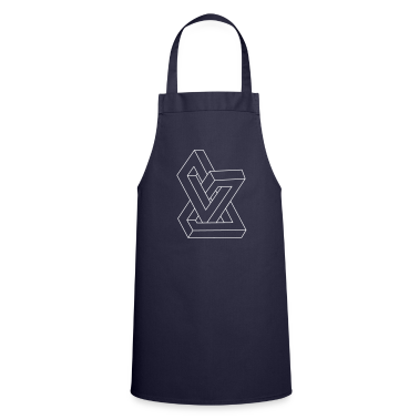 Optical illusion - Impossible figure  Aprons