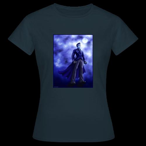 Superhero-Blue - Women's T-Shirt