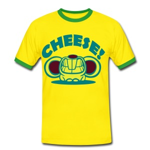 Cheese - Men's Ringer Shirt