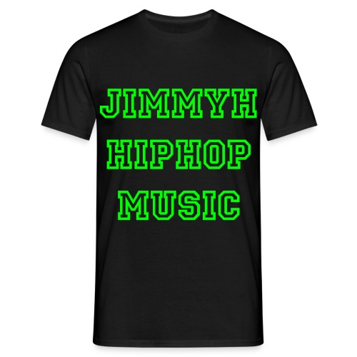Jimmyh Hiphop Music - T-shirt herr