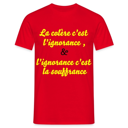 l'ignorance - T-shirt Homme