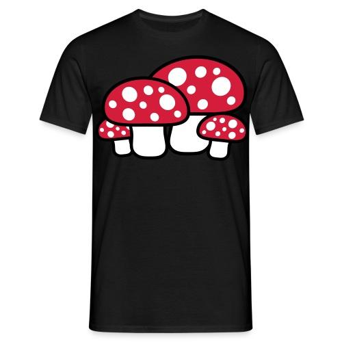 Mushroom shirt - Mannen T-shirt
