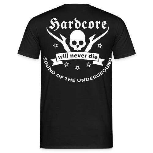 gabber - Mannen T-shirt
