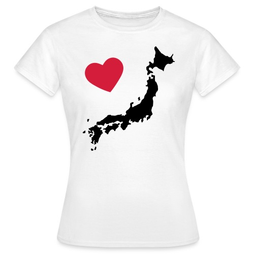 Japan Love - Maglietta da donna