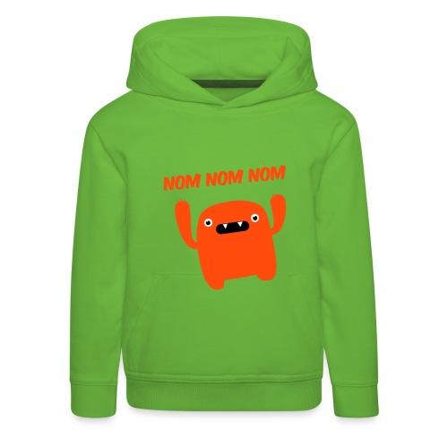 Nom Nom Monster - Kids' Premium Hoodie