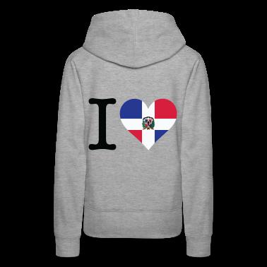 I Love Dominican Republic (dd) Hoodies & Sweatshirts