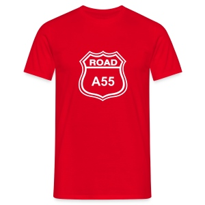 A55 - Red / Coch - Men's T-Shirt