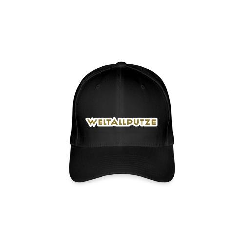 Weltallputze Cap-Oh Flex (Gold) - Flexfit Baseballkappe