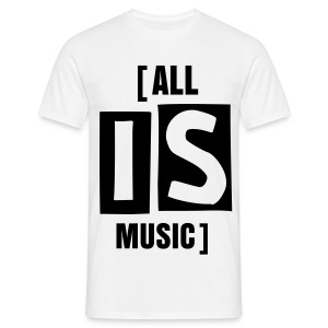 [ALL IS MUSIC]  - T-shirt Homme