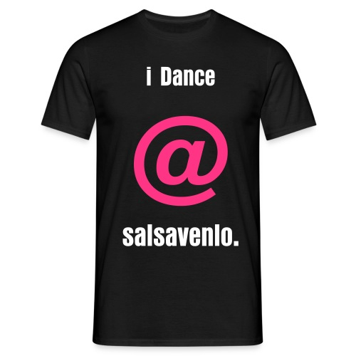 I Dance @ - Mannen T-shirt