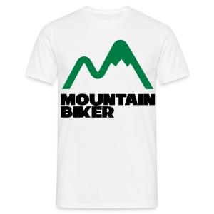 mountauin biker Tee - Men's T-Shirt