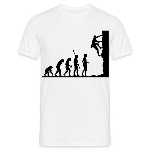 climbing evolution Tee - Men's T-Shirt