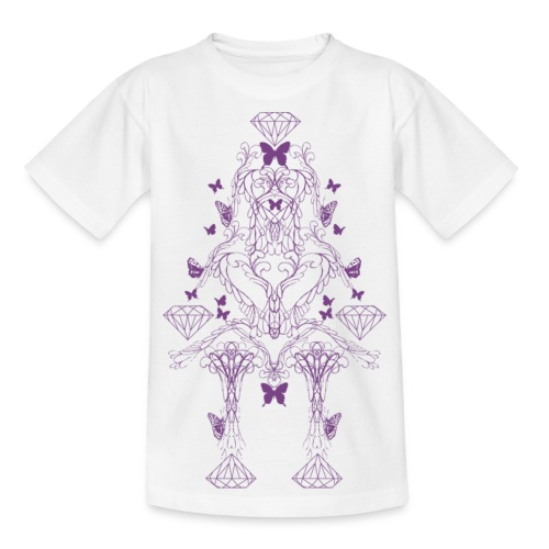Diamant Ornament - Teenager T-shirt