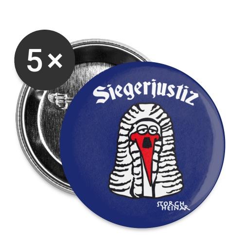 Siegerjustiz - Buttons klein 25 mm