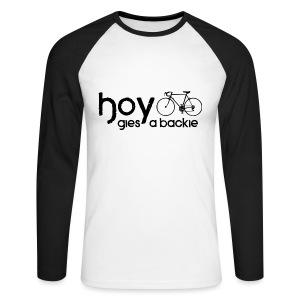 Hoy - Men's Long Sleeve Baseball T-Shirt