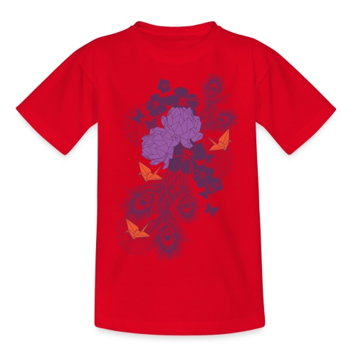 Bloemen  - Teenager T-shirt