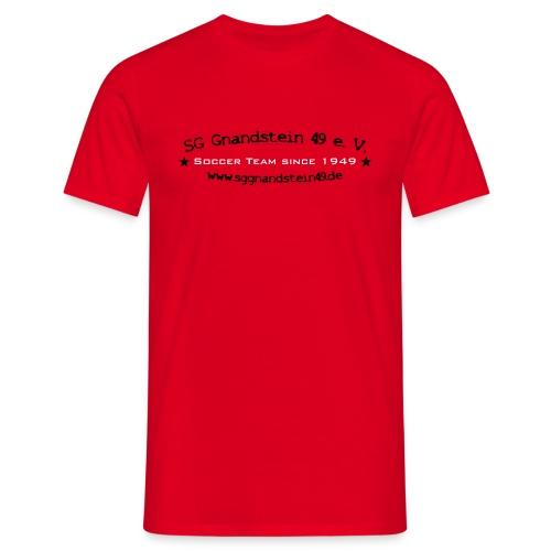 SoccerTeam - Classic-Shirt - Männer T-Shirt