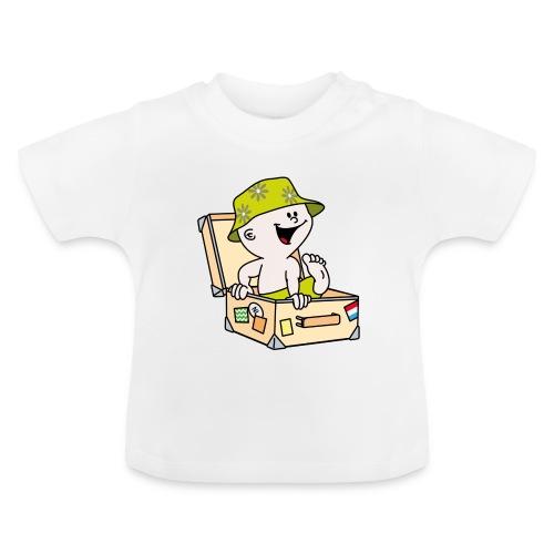 Baby T-shirt op reis - Baby T-shirt