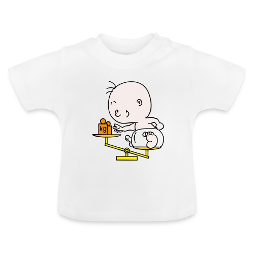 Baby T-shirt weegschaal - Baby T-shirt