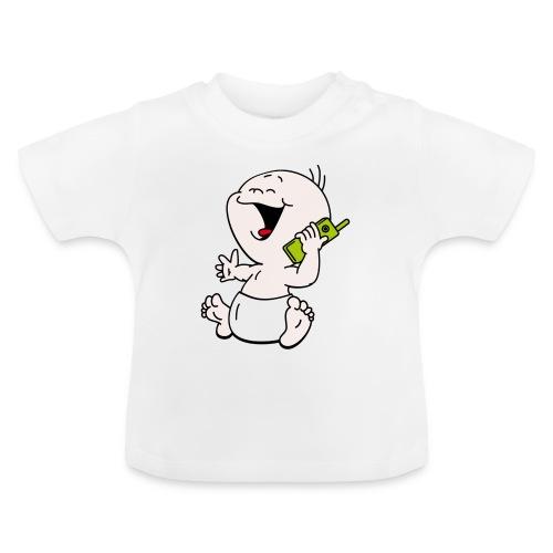 Baby T-shirt mobiel - Baby T-shirt