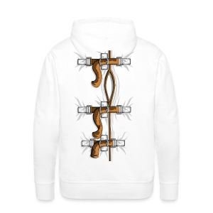 SELF HUGGER STRAIGHT JACKET - Men's Premium Hoodie