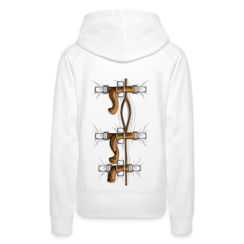 SELF HUGGER STRAIGHT JACKET - Women's Premium Hoodie