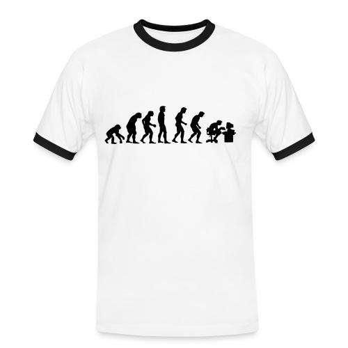 wired - Maglietta Contrast da uomo
