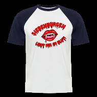 T-Shirts ~ Männer Baseball-T-Shirt ~ Siebenbürgen - liegt mir im Blut. Schickes Shirt für echte Transylvanier!