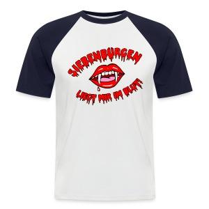 Siebenbürgen - liegt mir im Blut. Schickes Shirt für echte Transylvanier!  - Männer Baseball-T-Shirt