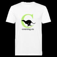 T-Shirts ~ Men's Organic T-shirt ~ Coursingshirt organic white