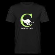 T-Shirts ~ Men's Organic T-shirt ~ Coursingshirt organic black