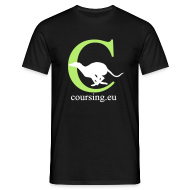 T-Shirts ~ Men's T-Shirt ~ Coursingshirt classic black