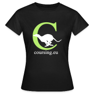 T-Shirts ~ Women's T-Shirt ~ Coursingshirt female classic black