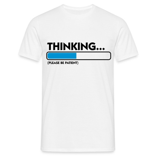 I'm thinking... - T-shirt herr