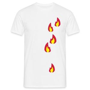 Hoofdkussenhoes met print - Mannen T-shirt
