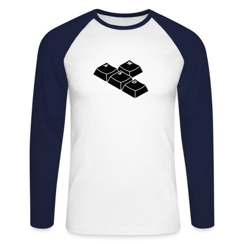 The WASD-Shirt - Männer Baseballshirt langarm